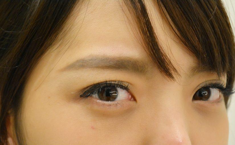 前髪と眉毛の関係